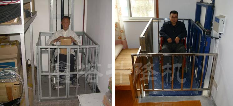 家用小型简易电梯图片